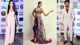Bollywood Celebs at the Lions Gold Awards 2019
