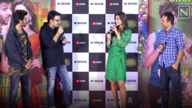 Kartik Aaryan and Kriti Sanon Launch Luka Chuppi Trailer