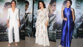 Bollywood Divas Attend the Screening of Kangana Ranaut's Manikarnika