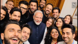 Bollywood Celebrities Meet Prime Minister Narendra Modi
