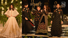 Sidharth Malhotra and Diana Penty Turn Muse for Rohit Bal at Blenders Pride Fashion Tour 2019