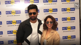 Yami Gautam and Vicky Kaushal Promote URI in Full Swing