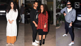 Vicky Kaushal and Yami Gautam Host a Screening of URI for the Celebs