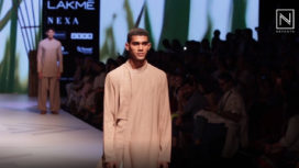 Antar Agni By Ujjwal Dubey Showcases Sustainable Fashion at Lakme Fashion Week SR19