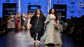 Mouni Roy Walks for Payal Singhal at Lakme Fashion Week Summer Resort 2019