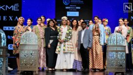 Urvashi Rautela Walks for the Label Verandah at Lakme Fashion Week Summer Resort 2019