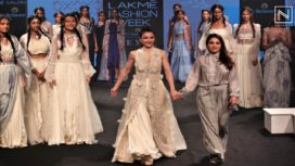 Soha Ali Khan Stuns as Showstopper for Neha Agarwal at Lakme Fashion Week Summer Resort 2019