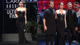 Kareena Kapoor Khan Slays as a Gorgeous Showstopper for Shantanu & Nikhil at LFW SR19