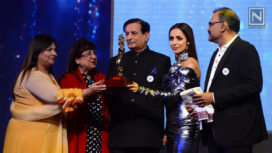 Malaika Arora Graces the National Jewellery Awards 2019