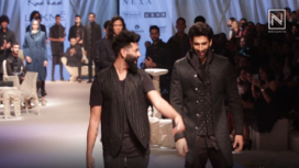 Aditya Roy Kapur Turns Showtopper for Kunal Rawal at LFW SR 19