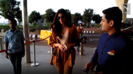 Bollywood Celebrities Step in at the Airport in Chic Looks