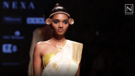 Anka by Usha Devi Balakrishnan Showcase Fashion For Livelihood at LFW SR19