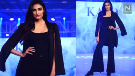 Athiya Shetty Walks the Ramp for Fashion Brand's Collection Preview Event