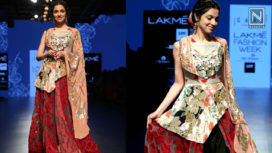 Divya Khosla Kumar Stuns as Showstopper for Parvathi Dasari at Lakme Fashion Week Summer Resort 2019