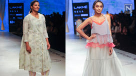 Wrestling Champion Geeta Phogat Turns Showstopper for Rina Singh at LFW SR19