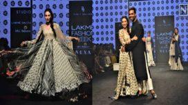 Karisma Kapoor Sashays Down the Ramp as Showstopper for Punit Balana at Lakme Fashion Week Summer Resort 2019