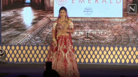 Ishita Raj Sharma Walks for Archana Kochhar at National Jewellery Awards 2019