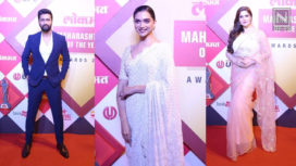 Bollywood Celebs Arrive in Style at the Lokmat Maharashtrian of the Year Award 2019