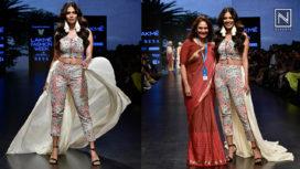 Malavika Mohanan Turns Showstopper for Ereena International at LFW SR19