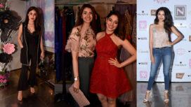 Bollywood Divas Grace Ohaila Khan's Boutique Launch