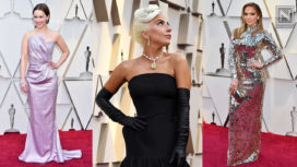Hollywood Stars Bedazzle the Red Carpet of the Oscars 2019