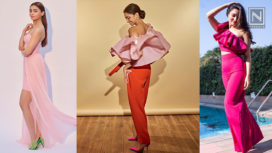 Flaunt the Romantic Reds and Pinks from Day to Night this Valentine's Day