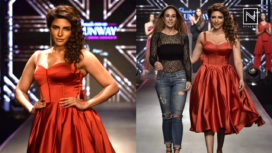 Shama Sikander Turns Showstopper for Rippii Sethi at Pernia's Pop-up Runway SS19