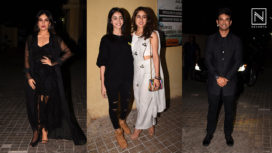B-Town Celebrities Arrive at Bhumi Pednekar and Sushant Singh's Sonchiriya Screening
