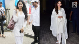 Janhvi Kapoor and Sara Ali Khan Love their Whites and Here's Proof