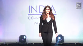 Zareen Khan Walks the Ramp for Parfait Lingerie Plus Size Fashion Show 2019