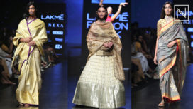 Aditi Rao Hydari Turns Muse for Sailesh Singhania at Lakme Fashion Week Summer Resort 2019