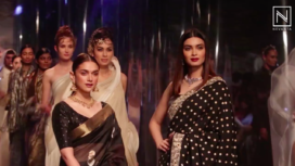 Aditi Rao Hydari and Diana Penty Glide the Ramp at the Grand Finale of LMIFW AW19