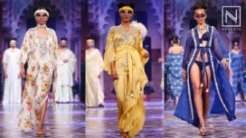 Pria Kataaria Puri for Bangalore Fashion Week Summer Online 2019