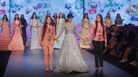 Dipannita Sharma Turns Muse to Karishma and Deepa Sondhi at LMIFW AW19