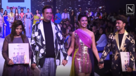 Divyanka Tripathi Dahiya Graces the Ramp for Horra Luxury at BTFW 2019