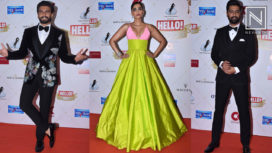 Bollywood Stars Attend the Hello Hall of Fame Awards 2019