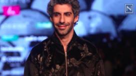 Jim Sarbh Walks the Runway for Siddartha Tytler at Lotus Makeup India Fashion Week AW19