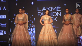 Kangana Ranaut Turns Muse to Anushree Reddy at LFW SR19