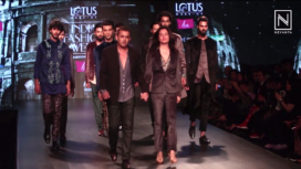 Kommal and Ratul Sood Showcase at Lotus Makeup India Fashion Week AW19