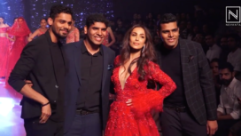 Malaika Arora Turns Perfect Muse for Kalki Fashion at Bombay Times Fashion Week 2019