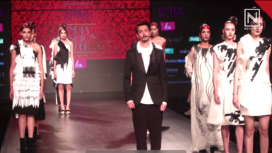 Nitin Bal Chauhan Showcases at Lotus Makeup India Fashion Week AW19