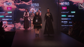 Pooja Shroff Showcases an Indonesian Batik Collection at LMIFW AW19