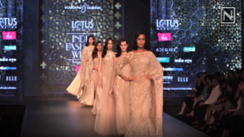 Rabani and Rakha Showcases at Lotus Makeup India Fashion Week Autumn Winter 2019