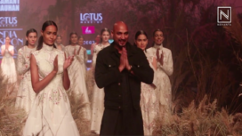 Samant Chauhan's Dreamy Collection at LMIFW AW19