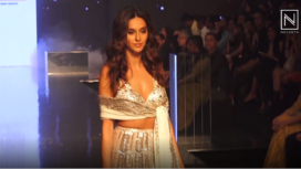 Shibani Dandekar Turns Muse to Suneet Varma at Bombay Times Fashion Week 2019