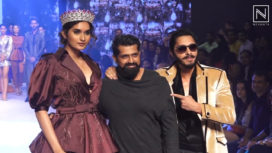 Shreyas Talpade and Roshni Sheoran for Dheeraj Sharma at BTFW 2019
