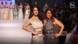 Sunny Leone Turns Muse to Sophiya Gupta at Bombay Times Fashion Week 2019