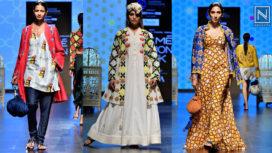 Urvashi Rautela Walk the Runway for the Label Verandah at Lakme Fashion Week Summer Resort 2019