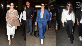 Bollywood Celebrities Keeping their Airport Fashion Game on Fleek