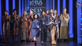 Amita Gupta Showcases an Indo-western Collection at LMIFW AW19